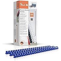 Dorsi Plastici Peach 14mm, capacità 125 fogli A4, blu, 100 pezzi - PB414-04 - Confronta prezzi