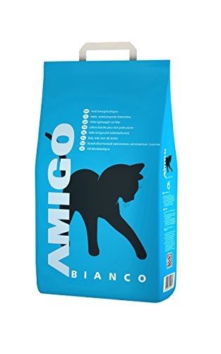 AMIGO Katzenstreu Bianco 8 Liter, Hygienestreu