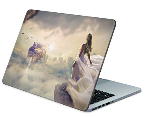 """Skins4u Laptop Aufkleber Universal Skin Netbook Sticker für bis zu 15,6"""" Displays in 38,1x26,7cm - Fantasy"""