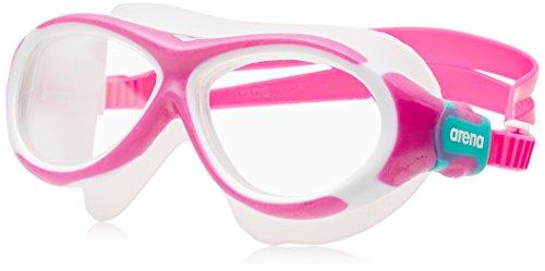 arena Kinder Unisex Schwimmmaske Brille Oblò Junior (Verstellbar, UV-Schutz, Anti-Fog...