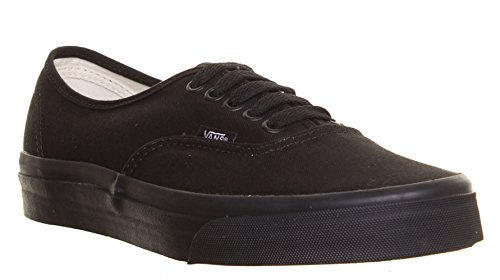 M1 Vans - Sneaker basse donna, autentiche, in tela, stringate, colore: Nero Black