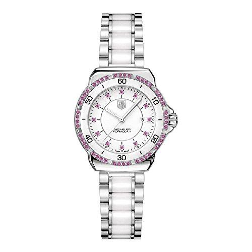 TAG Heuer THWAH1319BA0868 Montre bracelet Femme Acier inoxydable Argent