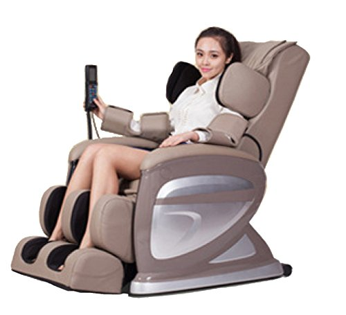Preisvergleich Produktbild Massagestuhl Multifunktionale Luxus Körper 3D-Startseite Schwerelosigkeit Kapsel Elektrische Massage-Sofa, Khaki