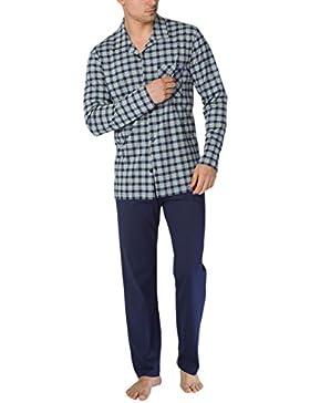 Calida Bill Herren Pyjama, Conjuntos de Pijama para Hombre