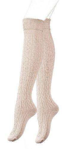 Calcetines largos por encima de la rodilla para mujer