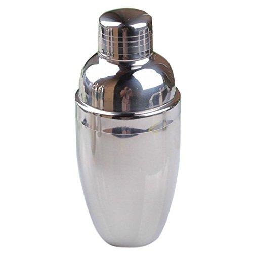 QHGstore Bianco in acciaio inossidabile Shaker / Drink Mixer / Bicchieri / 250 CC - Drink Sake