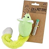 jouet chat souris verte