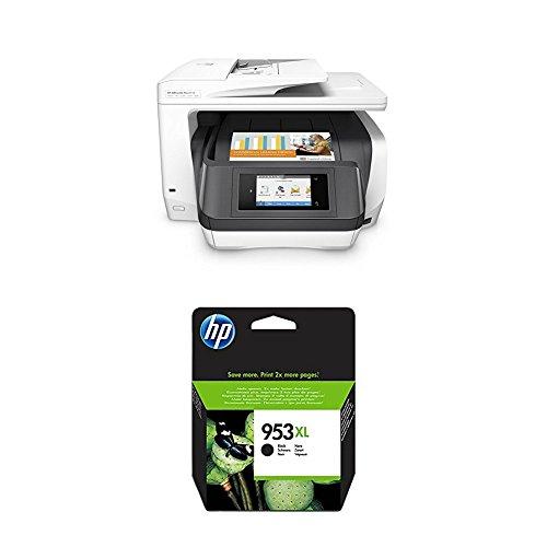 HP OfficeJet Pro 8730 Multifunktionsdrucker weiß + HP 953XL Schwarz -