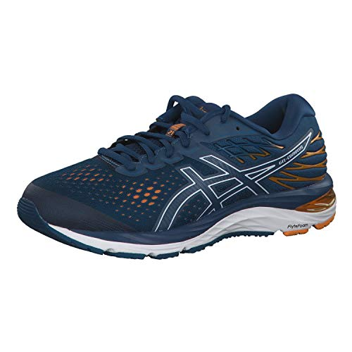 ASICS Herren Gel-Cumulus 21 Laufschuhe, Blau (Mako Blue/White 400), 39.5 EU - Asics Winter Shoes Running