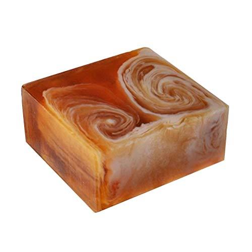 ECYC Natürliche handgemachte Propolis-Honig-Milchseife, Gesichtspflege, die aufhellende Haut Schönheits Bleaching tiefe Reinigungs Stab Seife erneuert