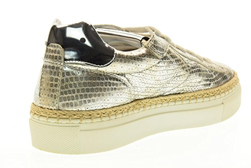 VOILE BLANCHE Chaussures femmes espadrille 0012011163.02.9136 PANAREA Argent