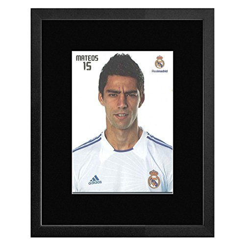 Stick It On Your Wall Real Madrid FC-15Mateos gerahmtes Mini Poster-22,7x 17,5cm - Mateo Poster