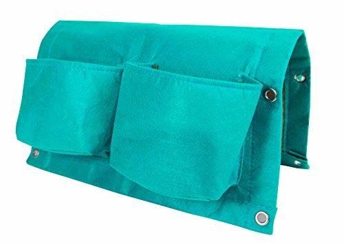 bloembagz Deck Schiene Viertaschen-Aufhängen Übertopf Tasche, Calypso (otr2–27)