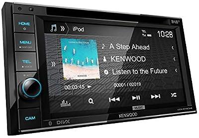 Kenwood DDX4019DAB DAB+ Multimedia-Autoradio mit 15,7 cm Touchscreen (2-DIN, DVD, Bluetooth Freisprecheinrichtung, Soundprozessor, USB, Android-/Apple- & Spotify Control) Schwarz