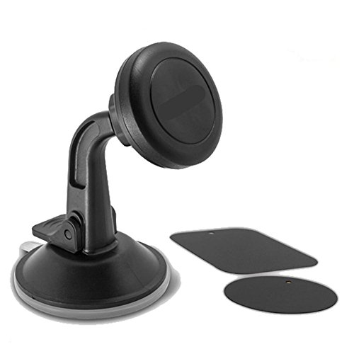 X-Auto Telefonhalter, 360 Grad Swivel Armaturenbrett Magnetische Universal Car Mount Telefonhalter Cradle und andere Smartphone (Magnetic Car Halter) Magnetic Swivel