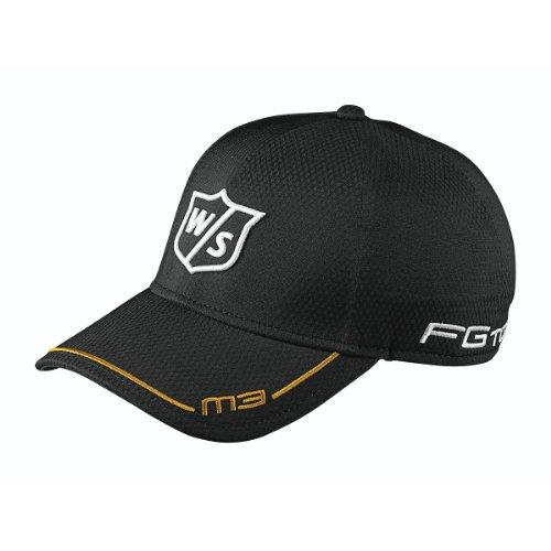 Wilson, Cappellino da golf Staff FG Tour M3, Nero (Schwarz), Taglia unica
