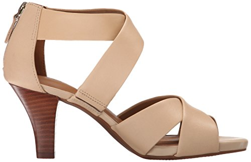 Clarks Florine Sashae Dress Sandal Nude Leather