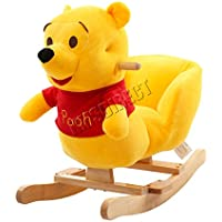 FoxHunter Animal Rocker Baby Kids Rocking Infant Toddler Child Children Toy Winnie The Pooh New