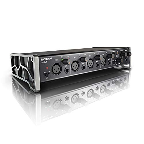 Tascam US-4x4 – USB-Audio-/MIDI-Interface (4 Eingänge, 4 Ausgänge)