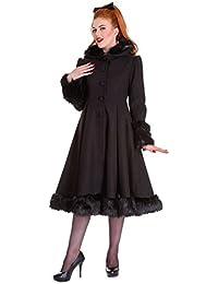 Hell Bunny - Manteau - Manches Longues - Femme Noir Noir