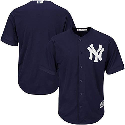 Shihong-G Benutzerdefinierte MLB Baseball Jersey personalisierte Baseball-Shirt mit Namen und Nummer für Erwachsene und Kinder