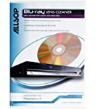 Allsop Blu-Ray Player, Driver & Portable Player Lens Cleaner For Improved Picture Quality & Sound