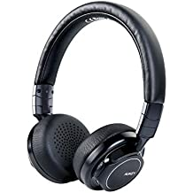 AUKEY Auriculares Bluetooth On Ear con Micrófono Hi-Fi Deep Bass Auricular Inalámbricos Sobre El