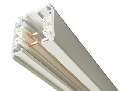 GlobalTrac 3-Phasenstromschiene 2 Meter weiß von Global Trac auf Lampenhans.de