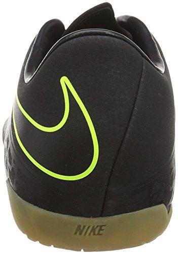 Nike Hypervenom Phelon Ii Ic, Chaussures de Foot Homme Noir (Black/Black Volt)