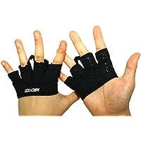 Preisvergleich für Coxncrew Non Slip Indoor Rowing Fitness Workout Black Grip Glove For Protecting Hands Schwarz