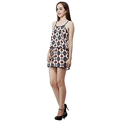 MansiCollections Printed Jumpsuit for Women
