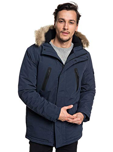 Quiksilver Herren Storm Drop Athletic Jackets, Blue Nights, L