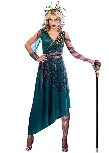 Erwachsene Kostüm Für Medusa Damen - Amscan Medusa Kostüm - Halloween Kostüm Damen