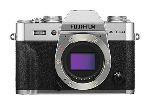 FUJIFILM X-T30 Digital Camera (Silver)