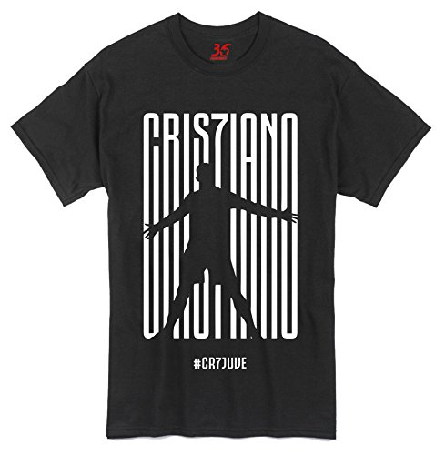 36FAHRENHEIT Cristiano Ronaldo CR7Juve Juventus Unisex Cotton T-Shirt