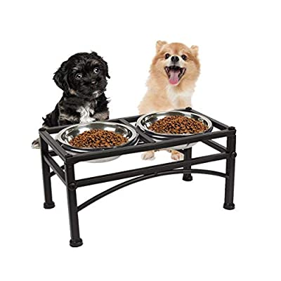 Double Stainless Steel Pet Bowl Feeder from BP