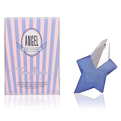 Angel Eau De Toilette (THIERRY MUGLER - ANGel eau sucrée eau de toilette mit Zerstäuber 50 ml - Damen)