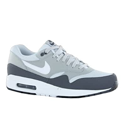 Nike Air Max 1 Essential Grey White Mens Trainers Size 10 UK