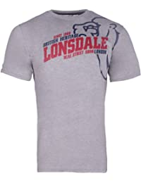 Lonsdale Herren Langarmshirt T-Shirt Trägerhemd Walkey
