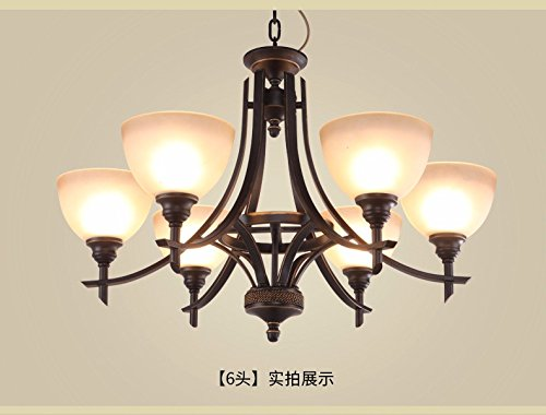 GQLB Ferro da stiro lampadari stile Liberty in Sala Ristorante ...