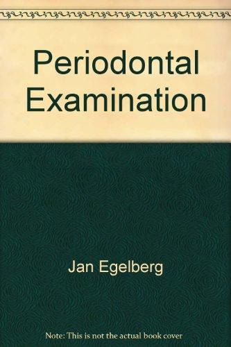 Periodontal Examination par Jan Egelberg
