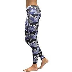 YUJIAKU Leggings Mujer Animal Gato Legging Impresión Digital Fitness Leggins Slim Cintura Alta Tallas Grandes Pantalones de Entrenamiento Legins