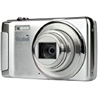 Rollei Powerflex 610 HD Kompaktkamera (7,6 cm (3 Zoll) LCD-Display, 16 Megapixel CMOS-Sensor, 8-fach opt. Zoom, USB 2.0) silber