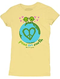 David and Goliath Peas On Earth Womens T-shirt