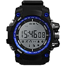 Leotec LESW09B - Reloj Digital Para Hombre, color LCD/Negro