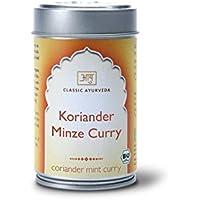 Classic Ayurveda - Bio Koriander Minz Curry Gewürzmischung, 1er Pack (1 x 50g) - BIO preisvergleich bei billige-tabletten.eu