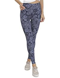 BeLady Leggings Femme en Coton Longs Opaque Leggins Minceur Taille Haute  Beaucoup de Motifs 36 20eeef112eb