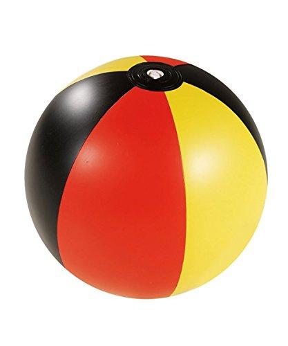 Agua Balón de fútbol Alemania Diseño Playa Negro Rojo Amarillo Fútbol Campeonato Europa 2016