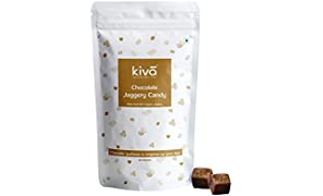 Kiva Natural Gluten Free Organic Chocolate Vegan-Friendly Jaggery Candies, 20x8g