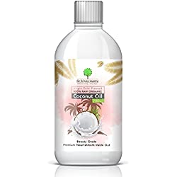 Raw Organic Virgin Coconut Oil for Skin, Hair, Oil Pulling and Overall Wellness By The Balance Mantra 200ml